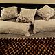 Текстиль, ковры ручной работы. Заказать Покрывало и подушки Шик. Iralight. Ярмарка Мастеров. Покрывало на кровать, чехлы, шторы на заказ