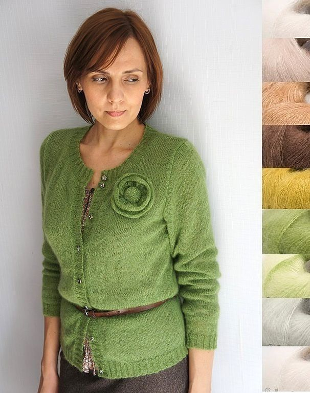 Sweater mohair poplar leaf, Sweater Jackets, Voronezh, Фото №1
