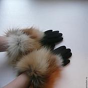 Аксессуары ручной работы. Ярмарка Мастеров - ручная работа перчатки. Handmade.