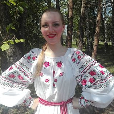 Одежда ручной работы. Ярмарка Мастеров - ручная работа Вышитая рубашка для девушки. Handmade.