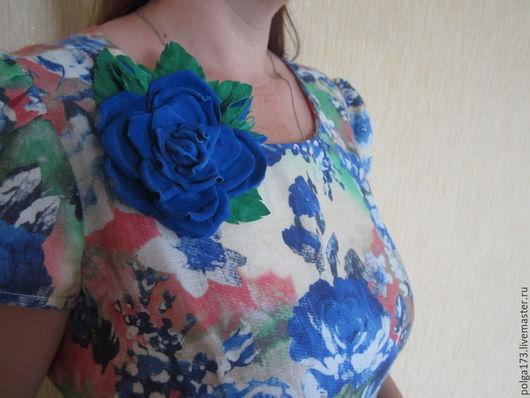 """Броши ручной работы. Ярмарка Мастеров - ручная работа. Купить Брошь """"Королева цветов"""". Handmade. Роза, украшения ручной работы"""
