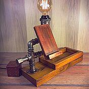 Органайзер с лампой Эдисона