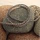 серебряный, цепочка, viking knit, ручная работа, Серебряная цепочка, плетение из проволоки, плетение, цепочка для украшений, цепочка для кулона, медная цепочка, цепочка для подвески
