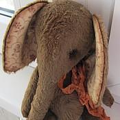 Куклы и игрушки ручной работы. Ярмарка Мастеров - ручная работа Слоник Chocolate. Handmade.