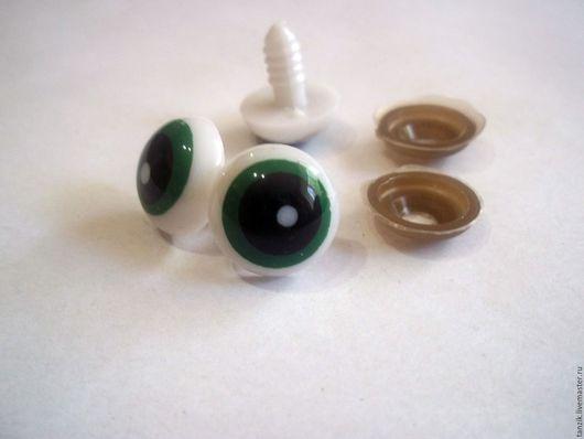 Куклы и игрушки ручной работы. Ярмарка Мастеров - ручная работа. Купить Глазки 15 мм.. Handmade. Комбинированный, глазки для игрушек