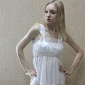 Combination handmade. Livemaster - original item Cambric negligee. Handmade.