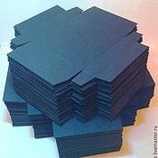 Материалы для творчества handmade. Livemaster - original item Blank boxes of a design paper pack of 100. Handmade.