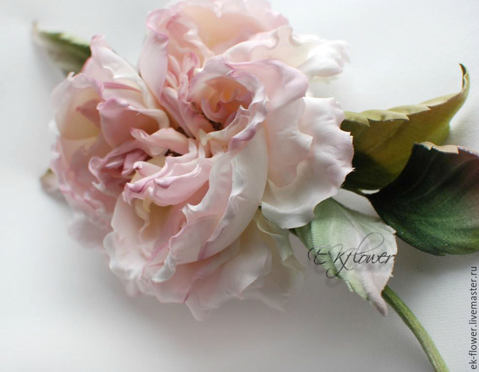 Fabric flowers silk flowers rose anelia shop online on silk flowers handmade fabric flowers silk flowers rose anelia mightylinksfo