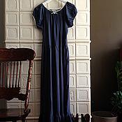 """Одежда ручной работы. Ярмарка Мастеров - ручная работа Платье """"Чайное"""" цвета океана. Handmade."""