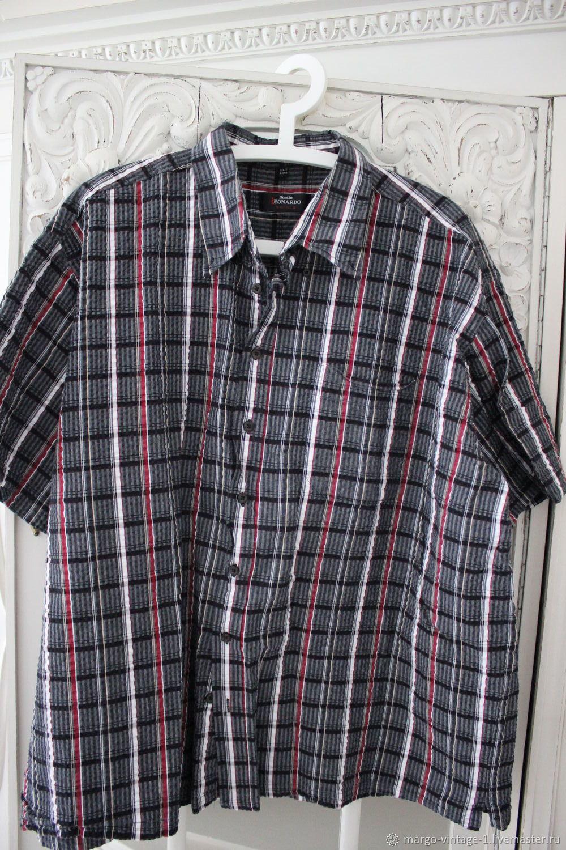 270a239b81cc961 Одежда. Ярмарка Мастеров - ручная работа. Купить Винтаж: Мужская рубашка  для богатыря.