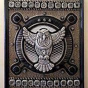 """Картины и панно ручной работы. Ярмарка Мастеров - ручная работа Панно """"Сова"""". Handmade."""