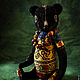 Мишки Тедди ручной работы. Заказать Африканская ночь. ArtMary. Ярмарка Мастеров. Разноцветный, для дома и интерьера, антикварный плюш, синдепон