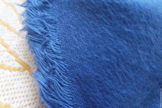 Шитье ручной работы. Ярмарка Мастеров - ручная работа. Купить Фланель синяя. Handmade. Синий, ткань для творчества, ткань для рукоделия