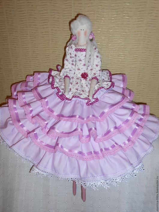 Куклы Тильды ручной работы. Ярмарка Мастеров - ручная работа. Купить Розовый ангел. Handmade. Розовый, кукла интерьерная, хлопок