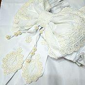 Работы для детей, ручной работы. Ярмарка Мастеров - ручная работа Бант для выписки. Для новорожденных бант для одеяла. Handmade.