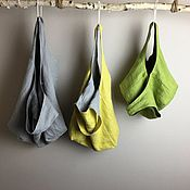 Сумки и аксессуары handmade. Livemaster - original item Eco shoper bag pack dvuhstoronnaja. Handmade.