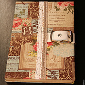 Канцелярские товары ручной работы. Ярмарка Мастеров - ручная работа Крафт-блокнот,эскизник,формат А5. Handmade.