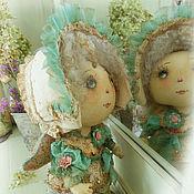 Куклы и игрушки ручной работы. Ярмарка Мастеров - ручная работа Бирюзовое платье. Handmade.