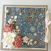 Подарки к праздникам ручной работы. Ярмарка Мастеров - ручная работа Коробочка для подарка. Handmade.
