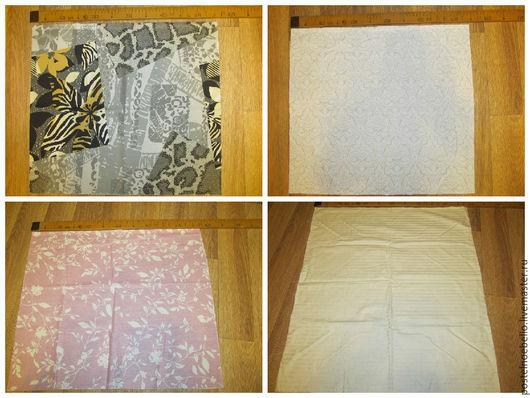 Шитье ручной работы. Ярмарка Мастеров - ручная работа. Купить Набор из 10  отрезков тканей (Отрезки 50 на 50см). Handmade.