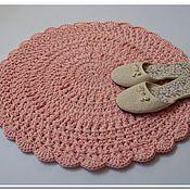 Для дома и интерьера handmade. Livemaster - original item Knit Mat handmade bedside. Handmade.