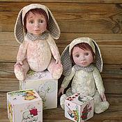 Куклы и игрушки ручной работы. Ярмарка Мастеров - ручная работа Митя и Асенька.. Handmade.