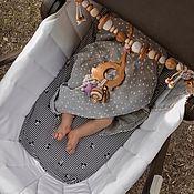 Работы для детей, handmade. Livemaster - original item Stretch for the stroller