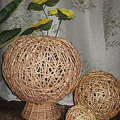 Vases handmade. Livemaster - original item Vase-ball of vines. Handmade.