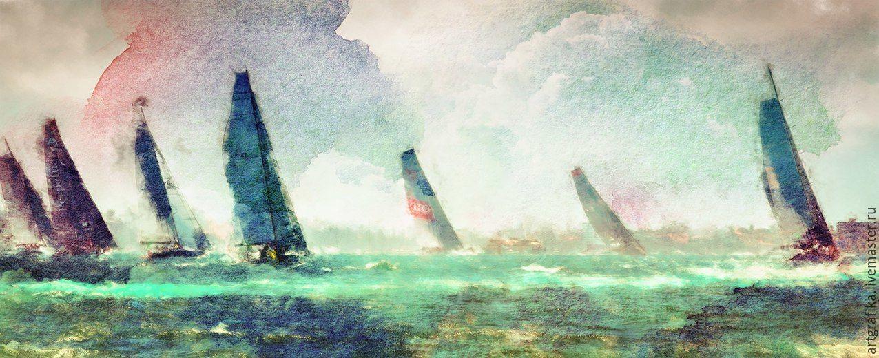 watercolor Regatta