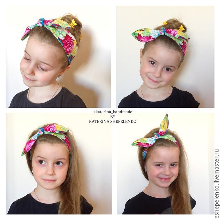 играх выкройка повязки солоха на голову для девочки сначала