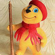 Куклы и игрушки ручной работы. Ярмарка Мастеров - ручная работа Мурзилка. Интерьерная кукла из войлока.. Handmade.