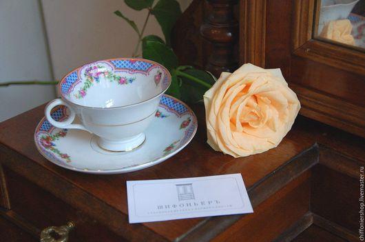 Винтажная посуда. Ярмарка Мастеров - ручная работа. Купить Антикварные чайные пары Schumann Bavaria. Handmade. Schumann, чай, деколь
