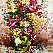 Картины и панно handmade. Livemaster - original item Oil painting Summer mood. Handmade.