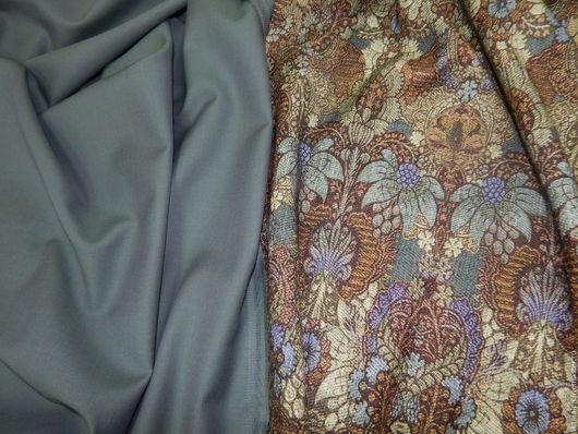 Шитье ручной работы. Ярмарка Мастеров - ручная работа. Купить 1,2 м. Итальянская шерстяная костюмка. Handmade. костюм