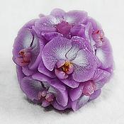 Материалы для творчества handmade. Livemaster - original item Silicone mold for soap Bowl orchids. Handmade.