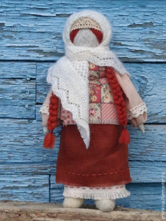 """Народные куклы ручной работы. Ярмарка Мастеров - ручная работа. Купить Народная куколка """"Марфушка"""". Handmade. Бежевый, традиционная кукла"""