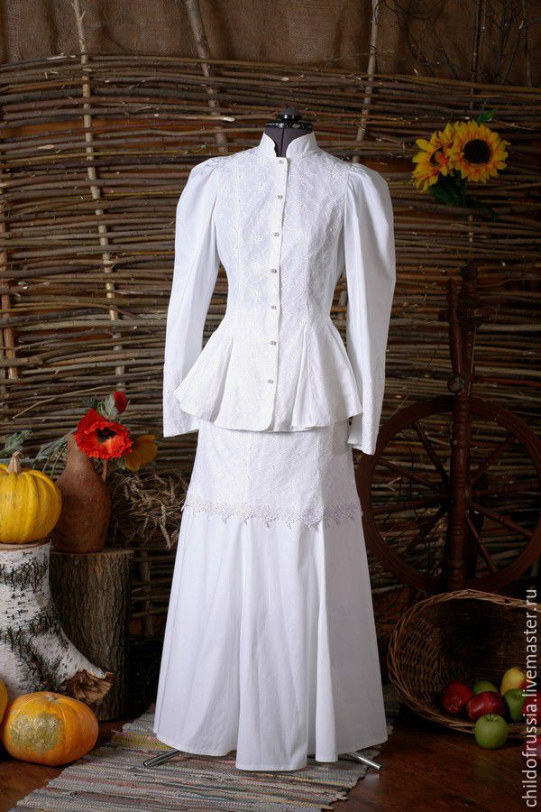Свадебное платье казачек