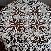 Для дома и интерьера ручной работы. Ярмарка Мастеров - ручная работа Скатерть из мотивов. Handmade.