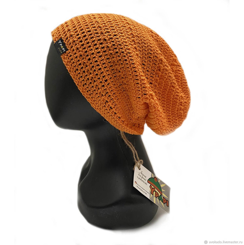 Unisex cotton hat ' Orange sky', Caps, Moscow,  Фото №1
