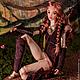 Коллекционные куклы ручной работы. Шарнирная кукла из фарфора, Аустралис. Inspiredoll. Ярмарка Мастеров. Кукла, шарнирная кукла