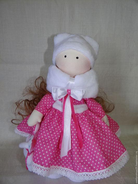 Текстильная кукла. интерьерная кукла. кукла  ручной работы. кукла тыквоголовка текстильная.кукла ручной работы. кукла большеножка. Купить куклу недорого. кукла тильда.