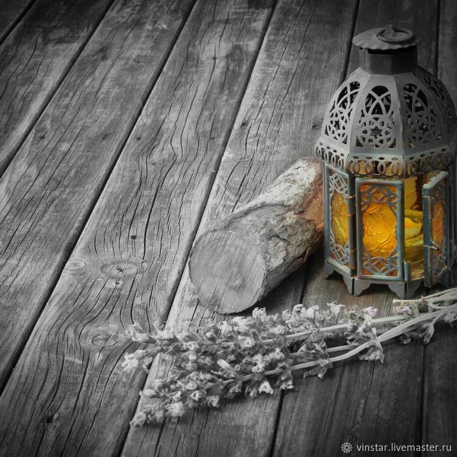 Фотофон виниловый Старинный фонарь, Фото, Курск,  Фото №1