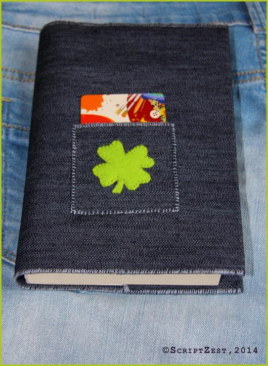 Обложки ручной работы. Ярмарка Мастеров - ручная работа. Купить Готовая работа: Обложка для книг джинсовая с карманом. Handmade. аксессуар