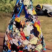 Сумки и аксессуары handmade. Livemaster - original item Bag-double-sided bag: Miyazaki. Handmade.