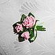 """Броши ручной работы. Мини-брошь """"Букетик любимых роз"""". Натали. Интернет-магазин Ярмарка Мастеров. Подарок для женщины"""