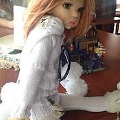 """Куклы и игрушки ручной работы. Ярмарка Мастеров - ручная работа """"Прогулка по Парижу"""" одежда для кукол. Handmade."""