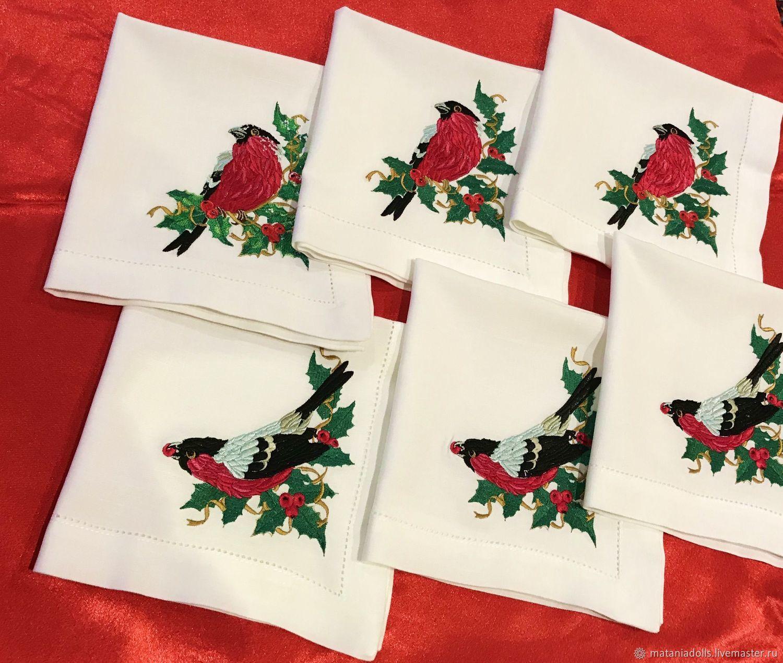 Вышивка скатерти на заказ коллекция схем - Промвышивка 79