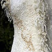 Одежда handmade. Livemaster - original item Vest with curls. Handmade.