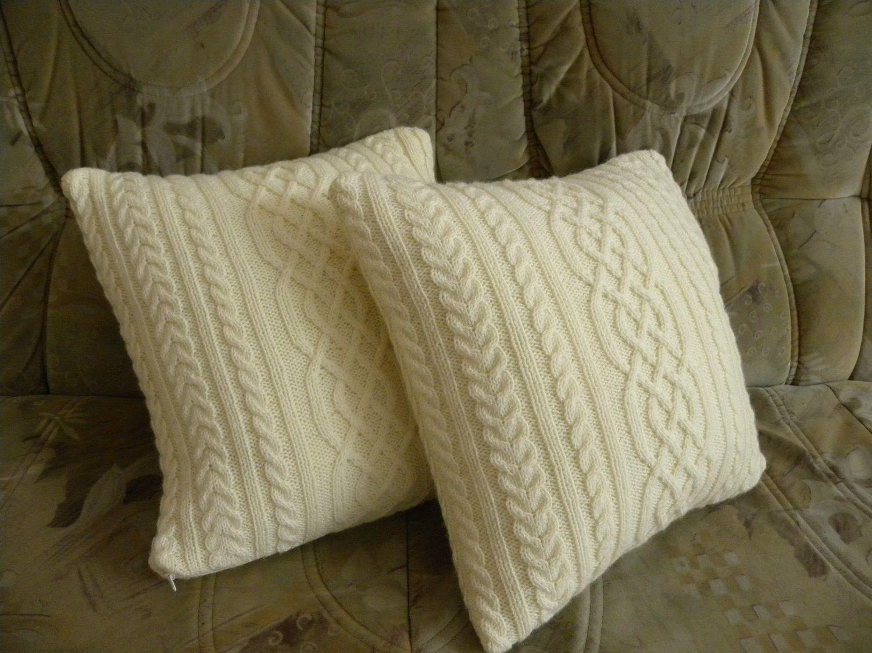 вязаные подушки купить в интернет магазине на ярмарке мастеров с