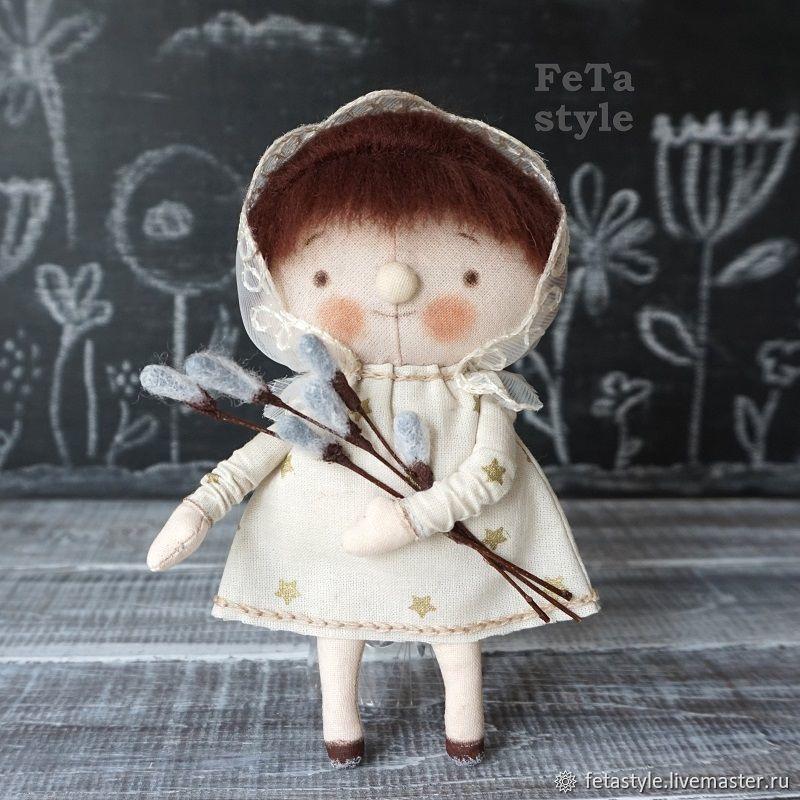 Copy of Doll Birthday boy  Doll texstile, Dolls, Velikiy Novgorod,  Фото №1